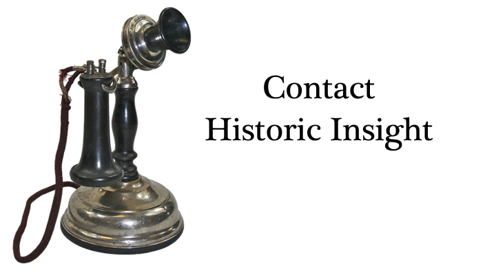 Contact Historic Insight, Inc.