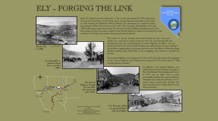 Ely: Forging the Link